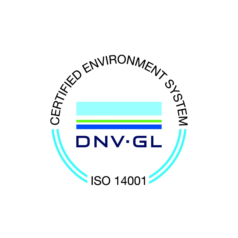 ISO 14001 logo in English